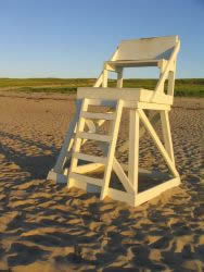 Cape Cod Vacation Rentals - Lifeguard Chair