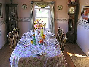 Cape Cod Holiday Rental -  Dining Room