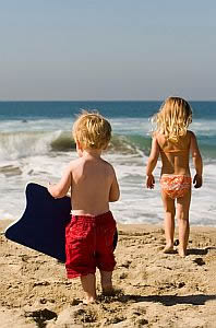 Cape Cod Holiday Rental - Kids on the Beach