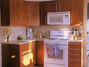 Cape Cod Holiday Rental Kitchen Area