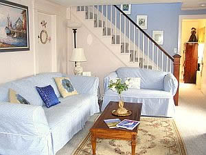 Cape Cod Holiday Rental -  Living Room