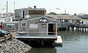 Hyannis Harbour Restaurant near our Cape Cod holiday rental