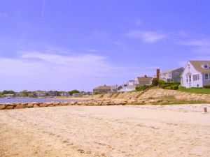 cape cod pet friendly rental :: bayview beach