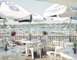 Hyannis Harbour Restaurant near our Cape Cod rental